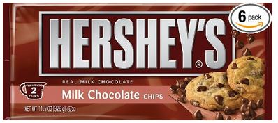 30880 Hershey Milk Chocolate Chips 340g