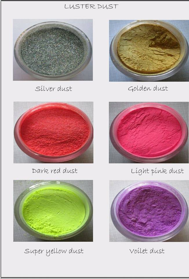 30886 Super Yellow Luster Dust 50gm