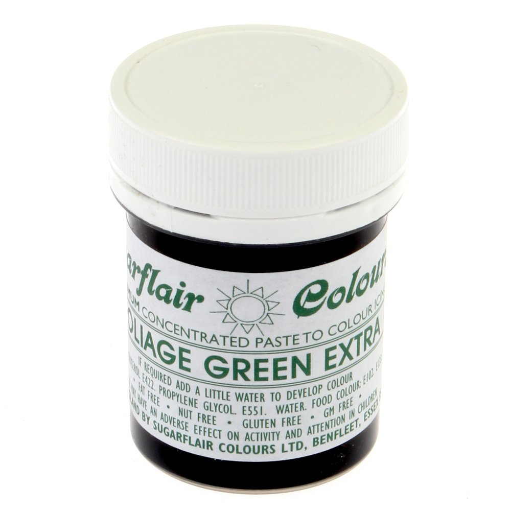 31438 Sugarflair FOLIAGE GREEN EXTRA max concentrated paste gel