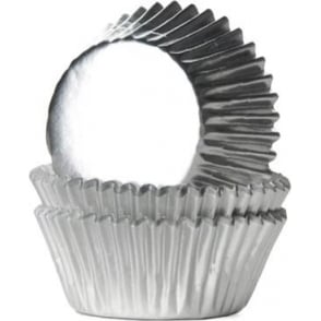 2002171 Jem Metallic Silver Cupcake Cases Pk30