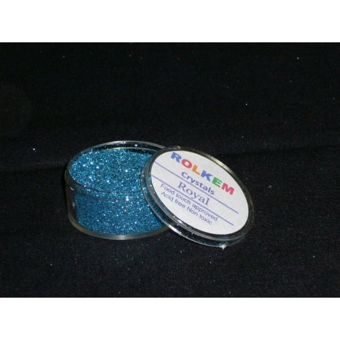 31084 Rolkem Crystal Non Toxic Sugarcraft Glitter Colours 10ml R