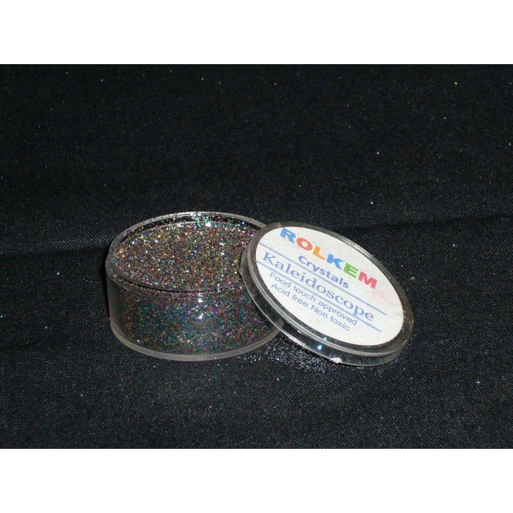 31097 Rolkem Crystal Non Toxic Sugarcraft Glitter Colours 10mlKa
