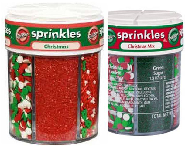 30280 6-Mix Christmas Sprinkle CHRISTMAS