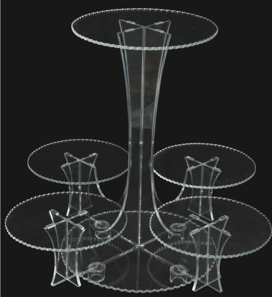 2001002 Acrylic Cake Stand FD2397