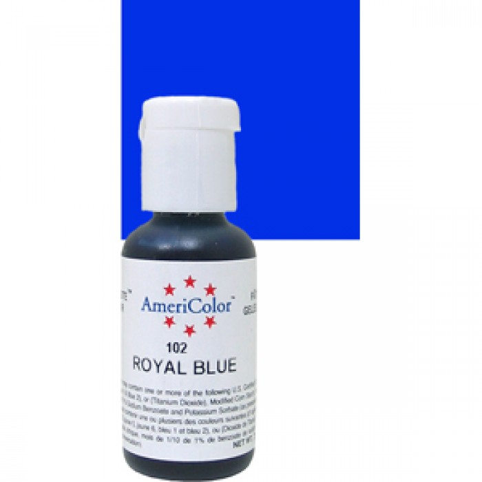 30666 Americolor Soft Gel Paste Food Color, Royal Blue 22 Ml