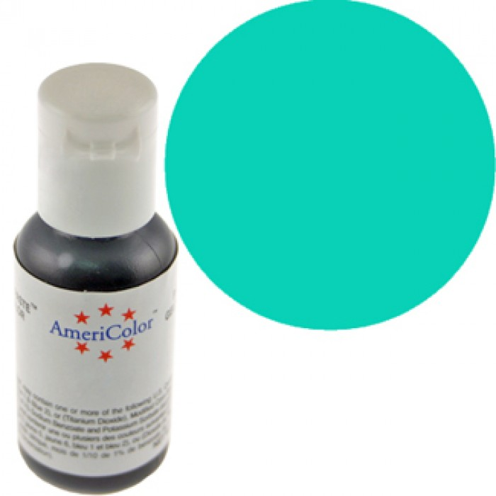 30701 Americolor Soft Gel Paste Food Color, Turquoise 22 Ml