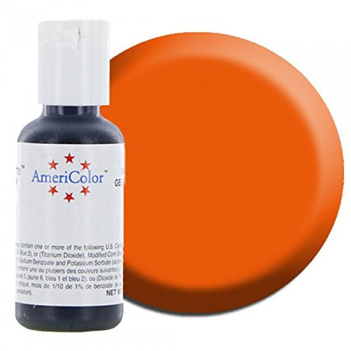 30711 Americolor Soft Gel Paste, Orange 22 Ml