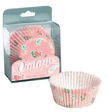 2000523 Vintage Paisley Cupcake Cases - 60 Pack