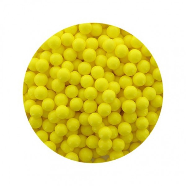 30911 Ganesh Yellow Pearls Medium 100gm