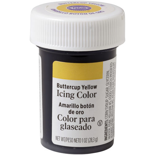 31255 Wilton Lemon Yellow Icing Color 28g