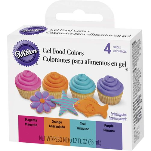 31267 Wilton Bright Gel Food Color Set