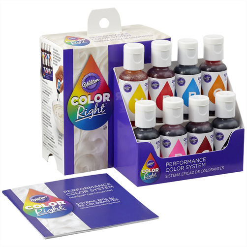 31268 Wilton Color Right Food Coloring System
