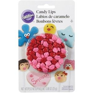 31353 Wilton Candy Lips Blister Pack
