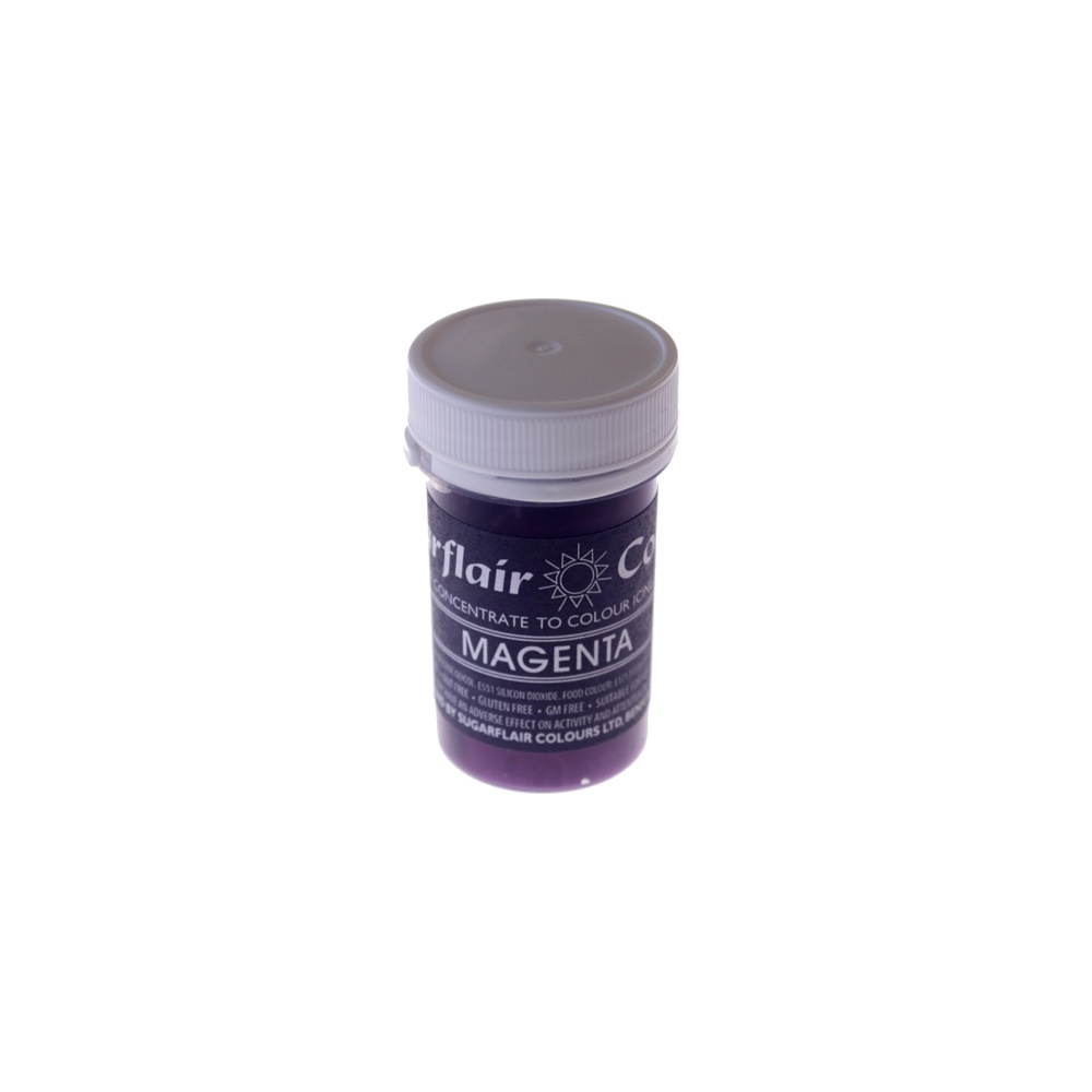 30496 Sugarflair MAGENTA Pastel Paste Gel Color 25g