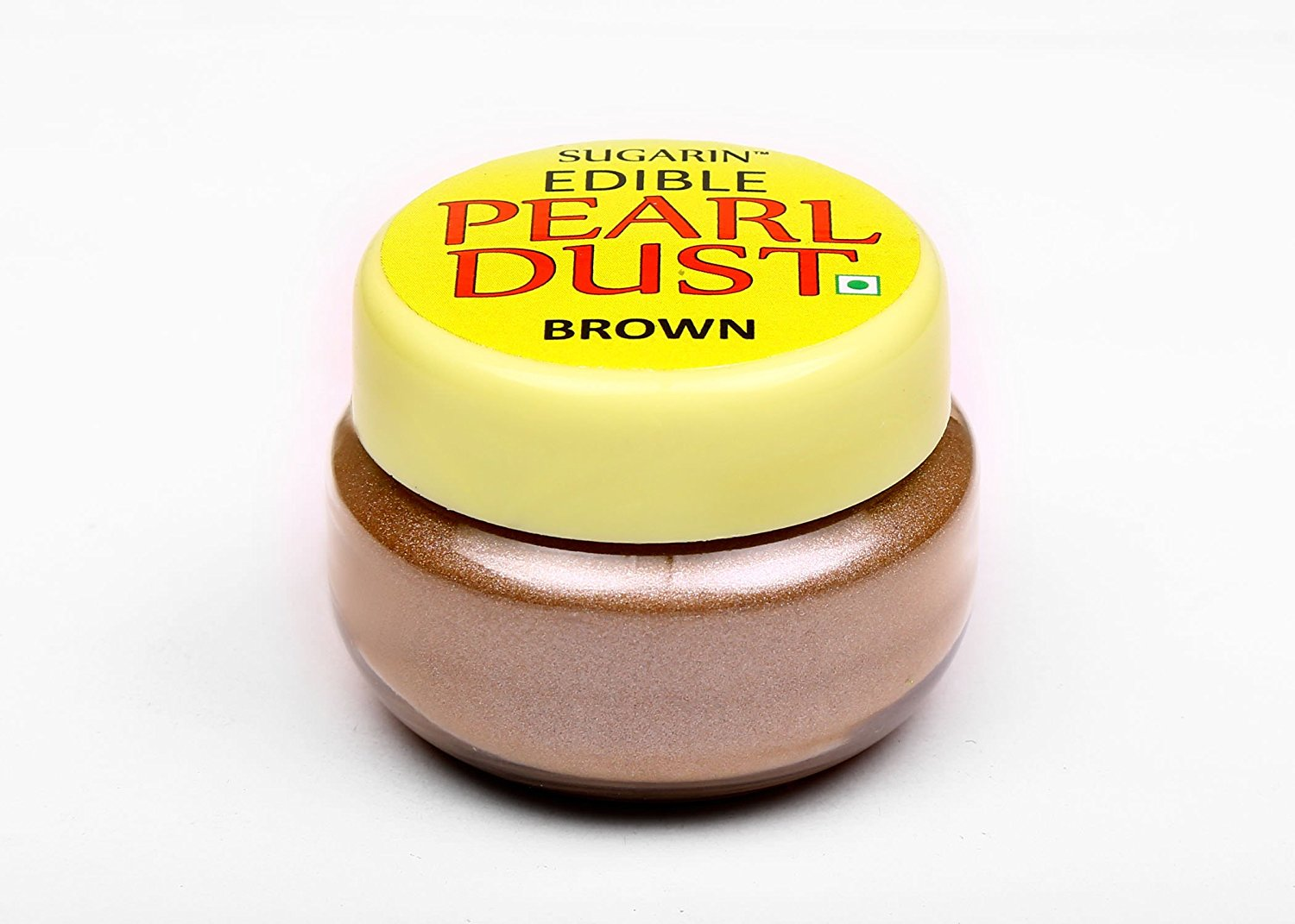 31705 SUGARIN Edible Pearl Dust, Brown, 4.25 gm