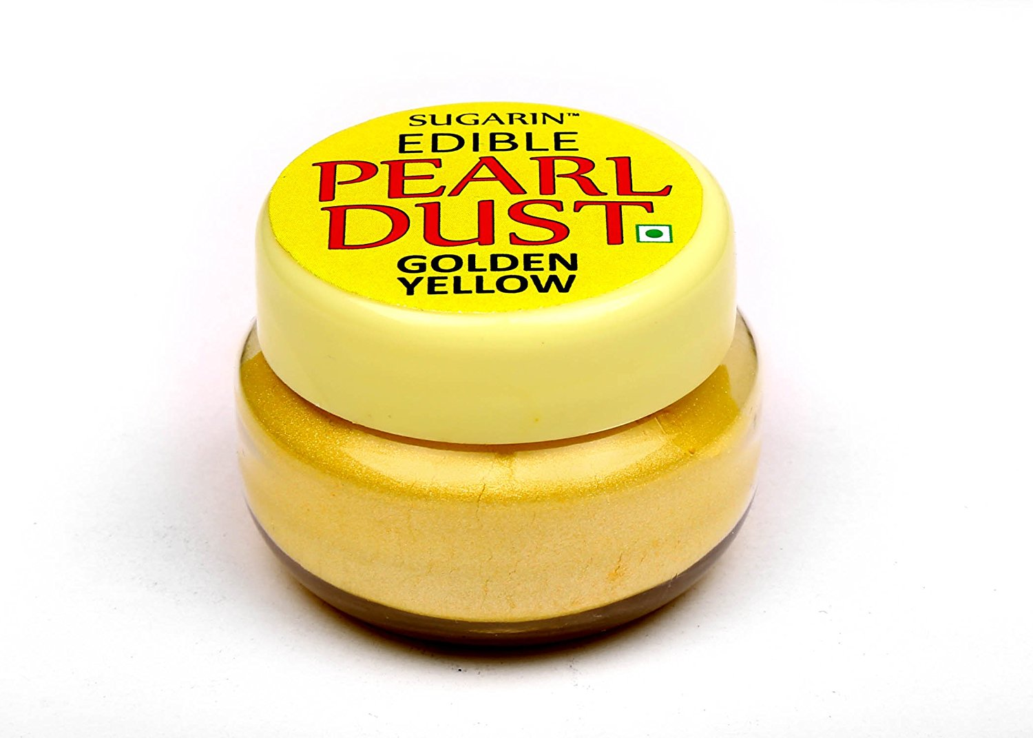 31702 SUGARIN Edible Pearl Dust, Golden Yellow, 4.25 gm
