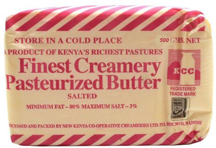 300101 Kcc Salted Butter 500Grm