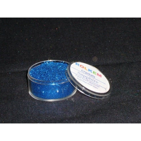 31085 Rolkem Crystal Non Toxic Sugarcraft Glitter Colours 10ml S