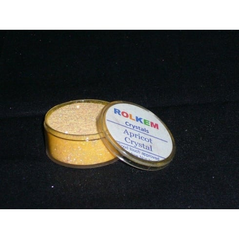 31091 Rolkem Crystal Non Toxic Sugarcraft Glitter Colours 10ml A