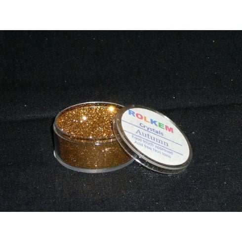 31094 Rolkem Crystal Non Toxic Sugarcraft Glitter Colours 10ml A