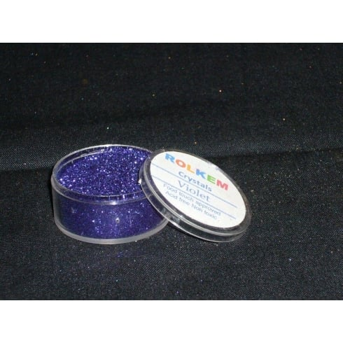 31100 Rolkem Crystal Non Toxic Sugarcraft Glitter Colours 10ml V