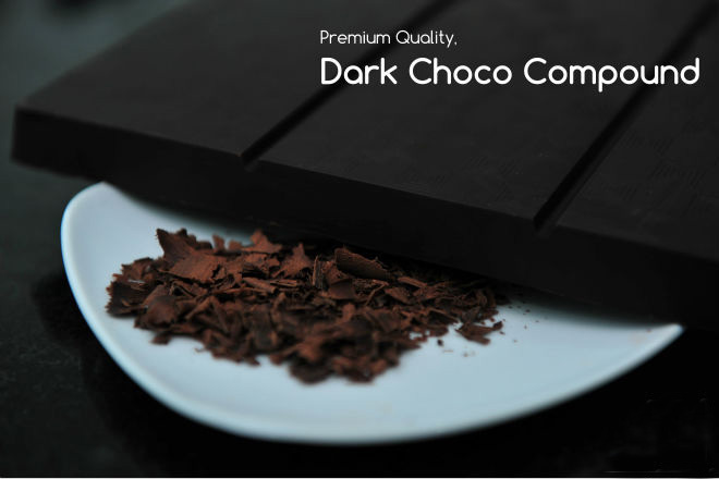 31564 Beyaz Dark Compound Chocolate 2.5kg