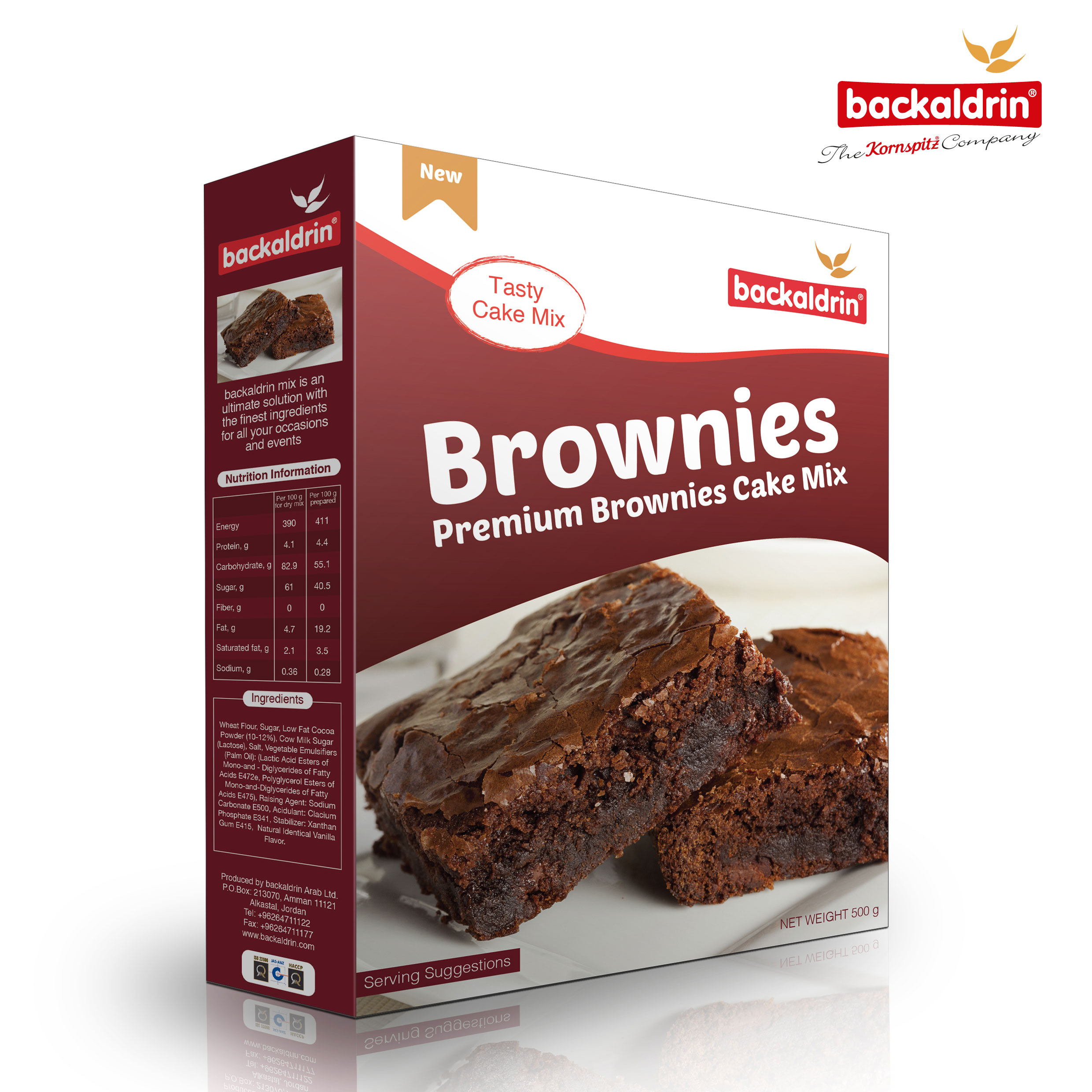 31850 Backaldrin Brownies