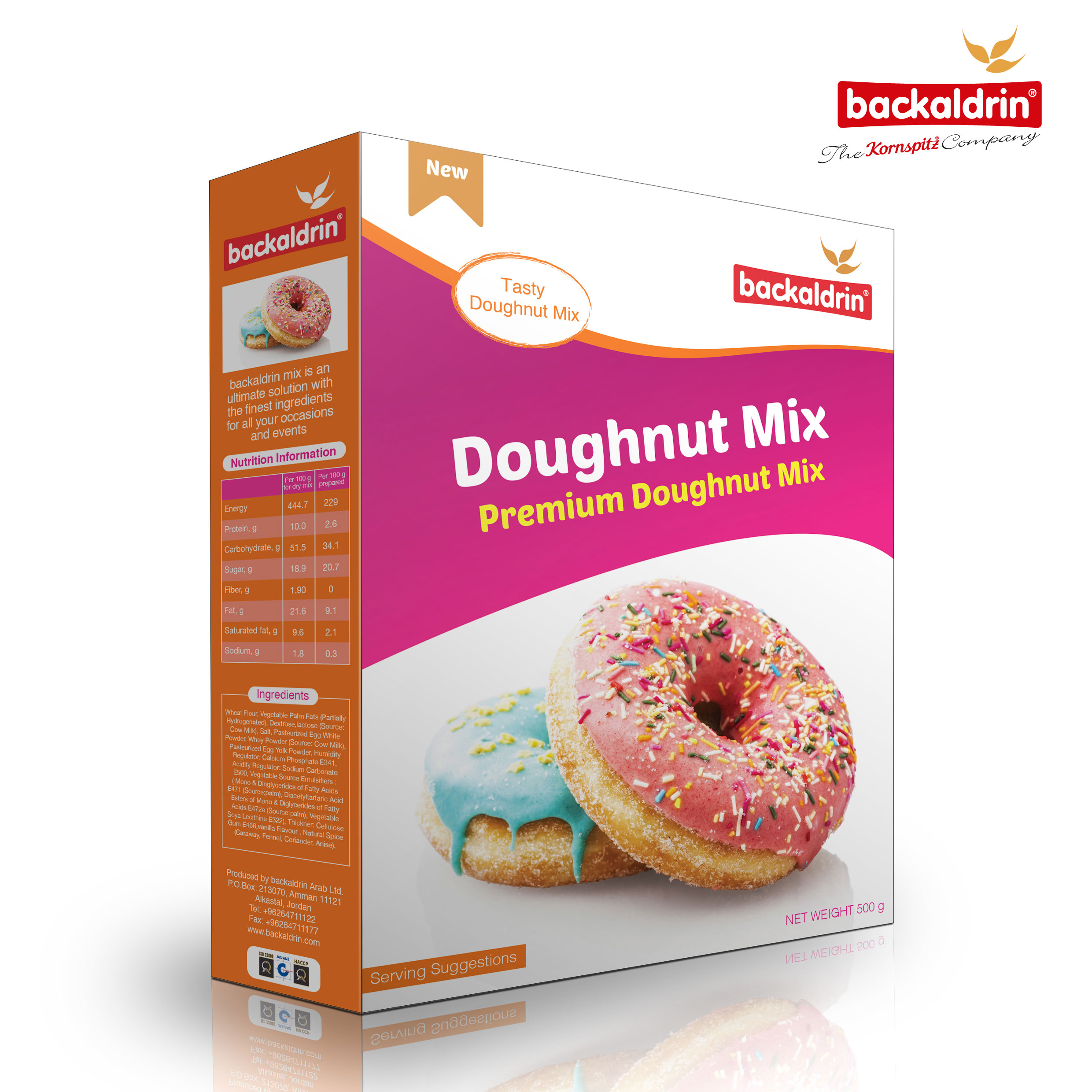 31855 Backaldrin Doughnut-Mix