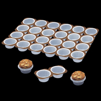 2000410 Paper muffin trays 24 in 1