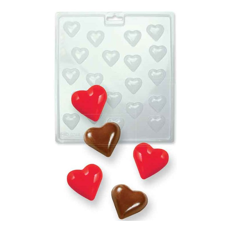 2000693 Jem Candy Mold mini hearts