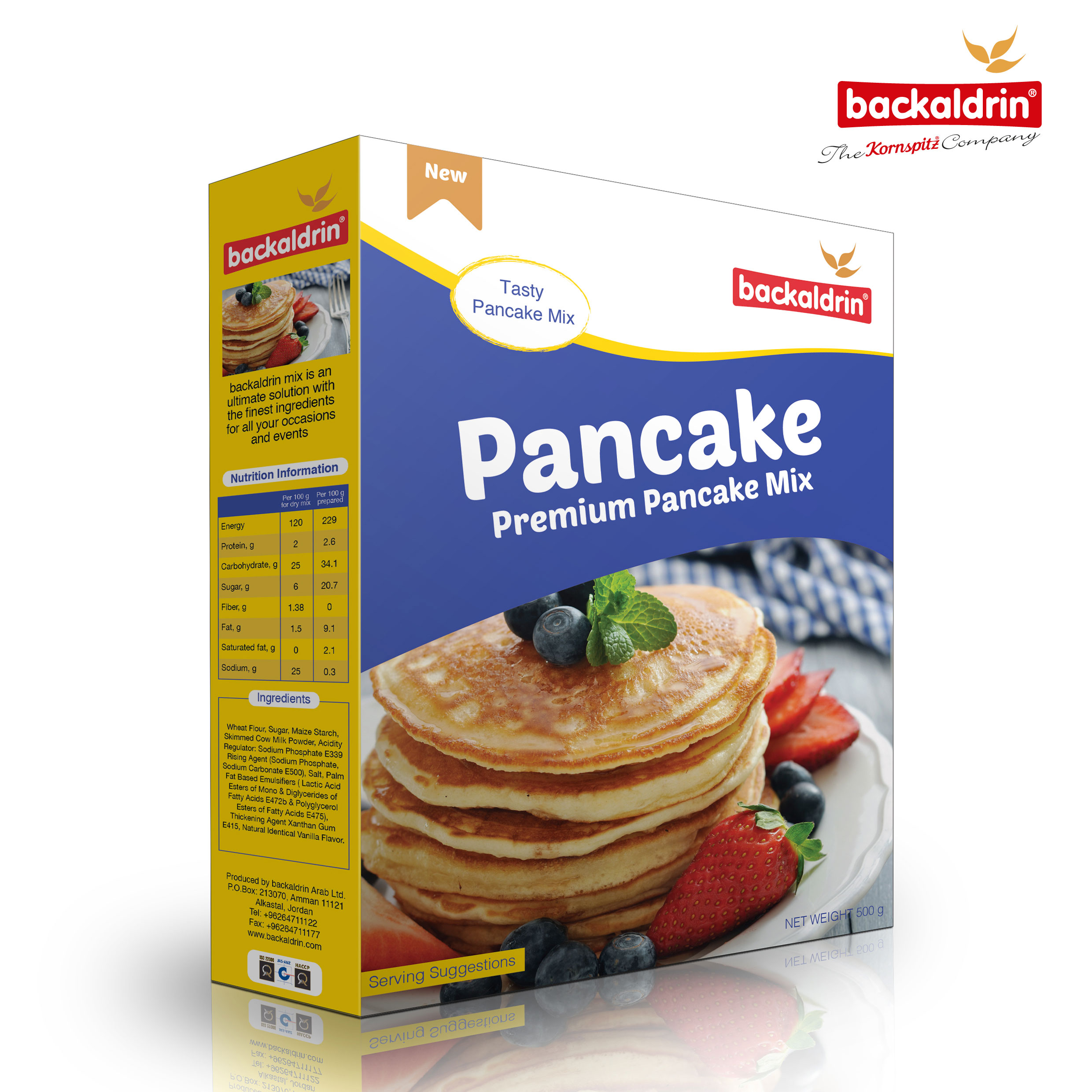 31852 Backaldrin Pancake mix