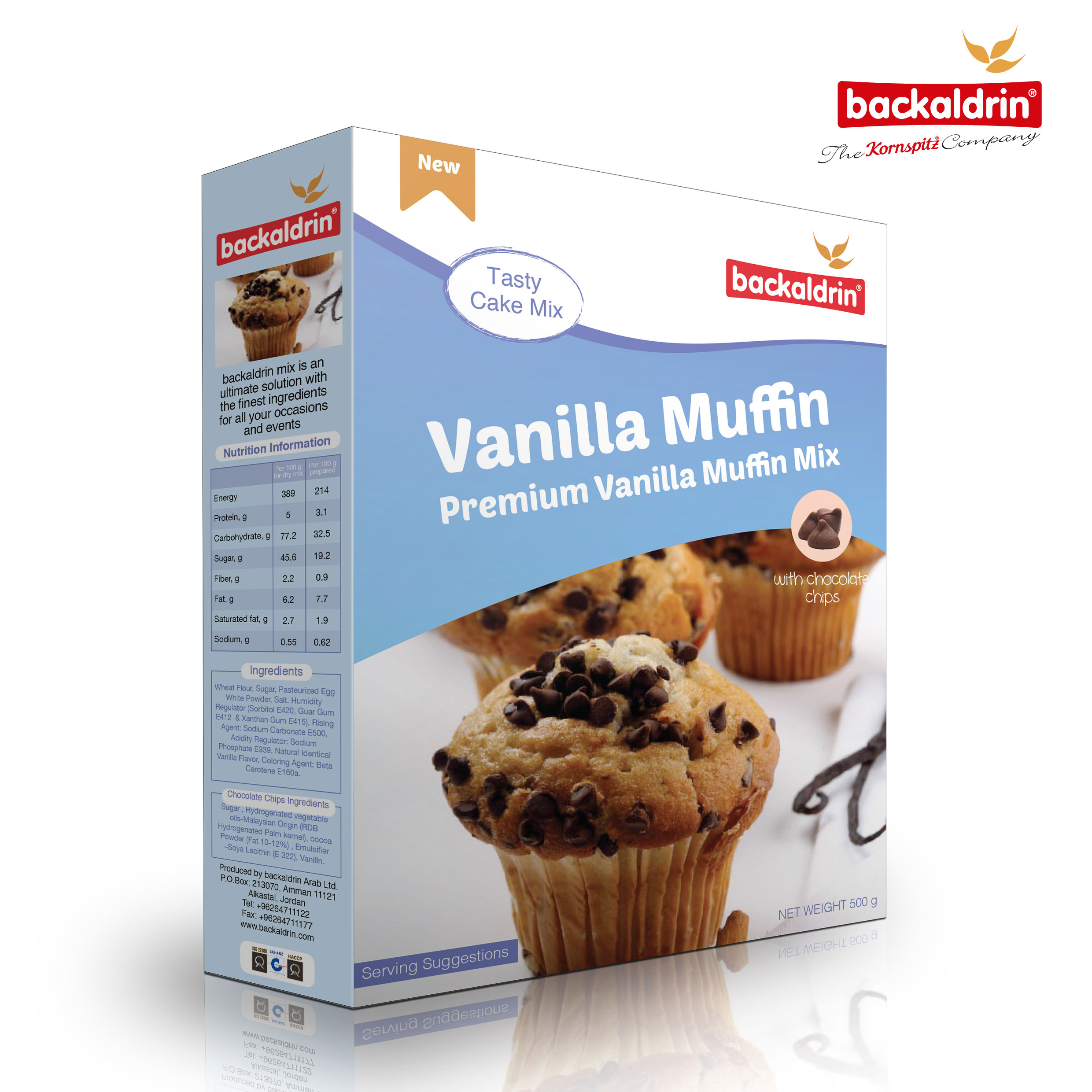 31848 Backaldrin Vanilla-Muffin