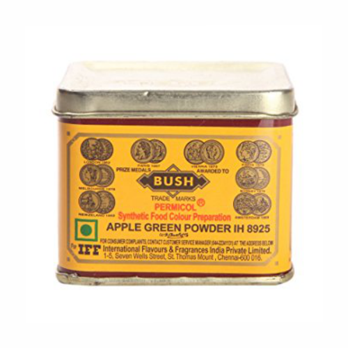 31806 IFF  APPLE GREEN POWDER 100GM