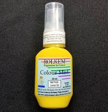 31789 Rolkem RKSA COLOUR MIST MATT FINISH LEMON GLO 20ML