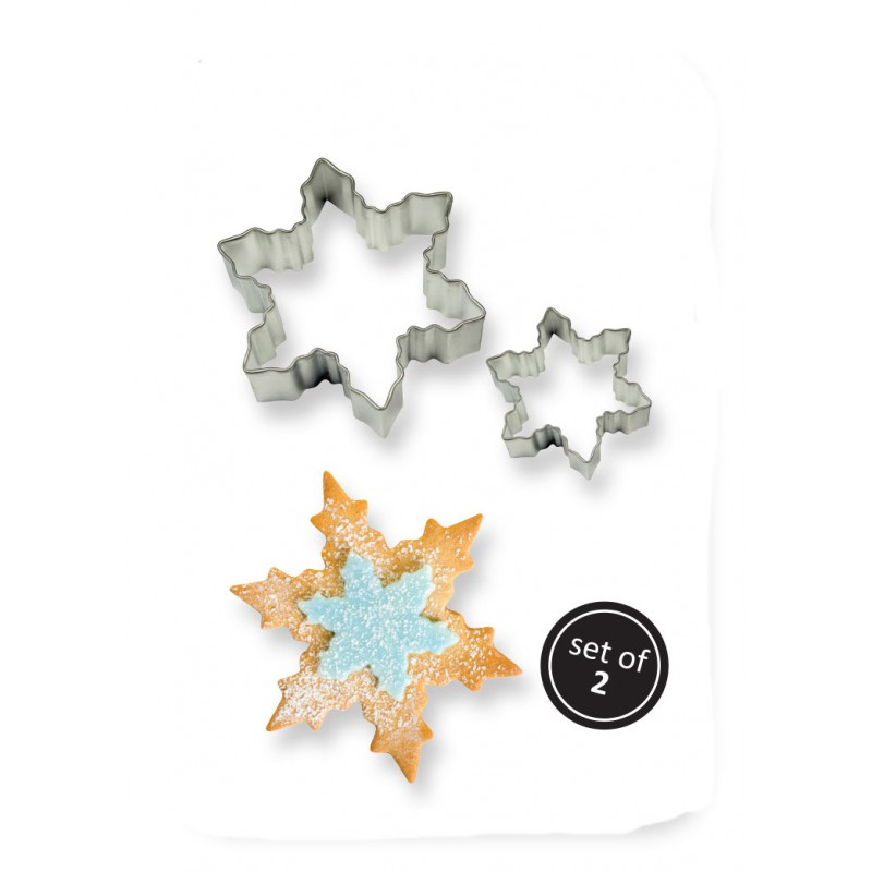 2001192 JEM Cookie & Cake Snowflake Cutter (Set/2)