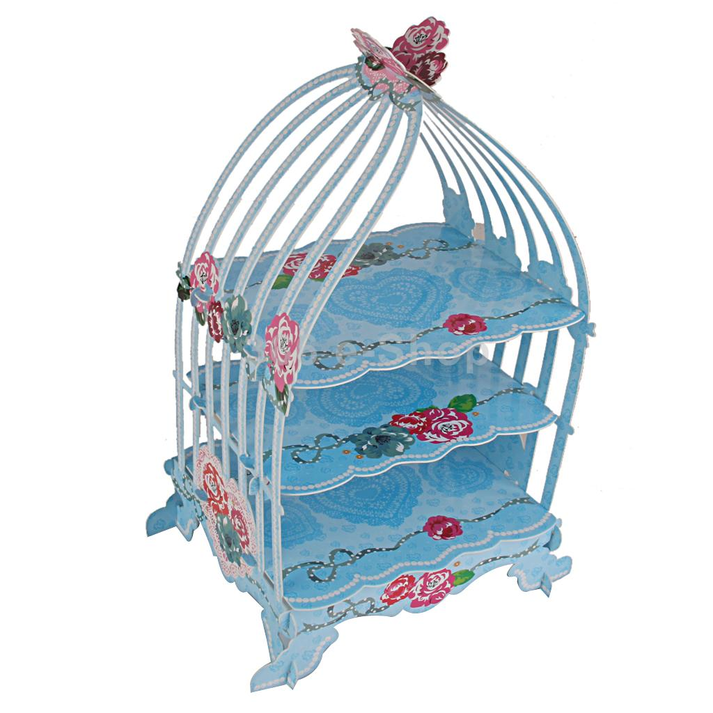 2001535 Birdcage Cupcake Cake Stand