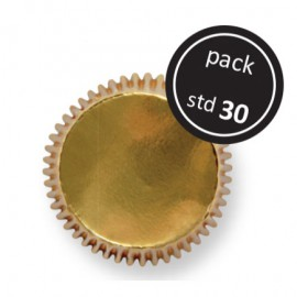 2000656 Gold Std Cupcake Cases Pkt 30