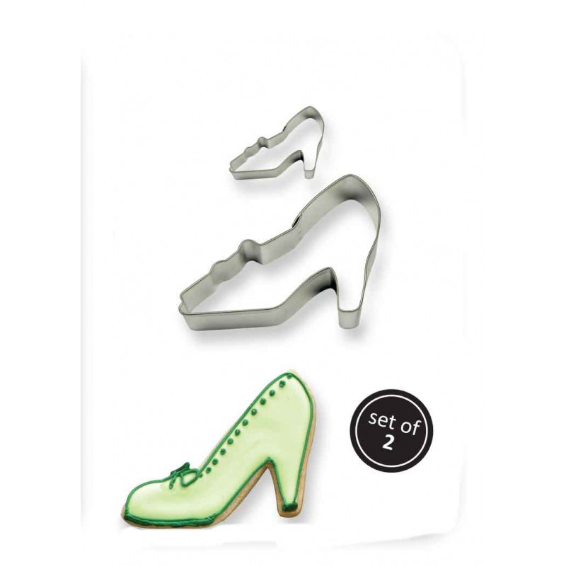 2001188 JEM Cookie & Cake High Heel Cutter (Set/2)