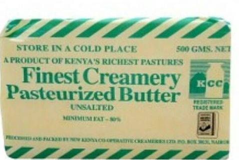 300102 Kcc Unsalted Butter 500grm