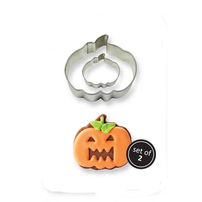 2001189 JEM Cookie & Cake Pumpkin Cutter (Set/2)