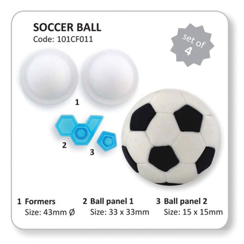 2001407 Jem Football Soccer Set