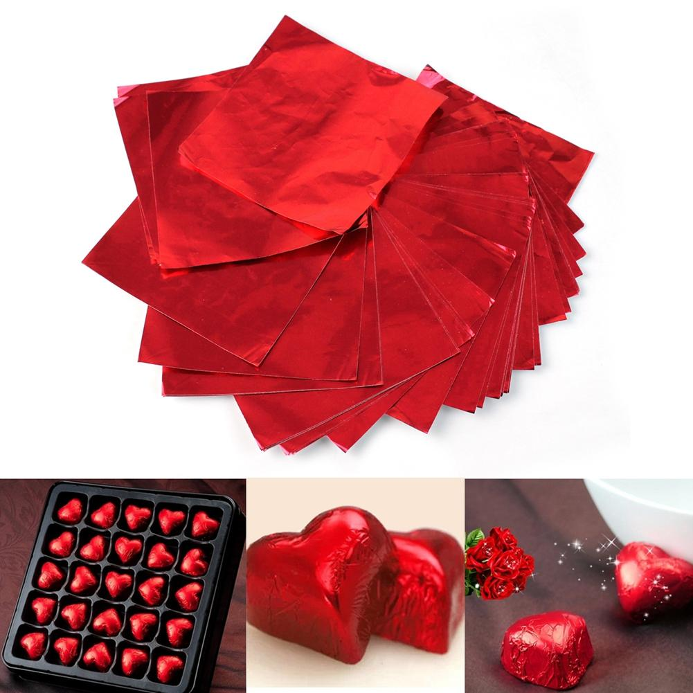 2001373 Chocolate Wrapping Foil Red
