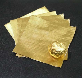 2001373 Chocolate Wrapping Foil Gold