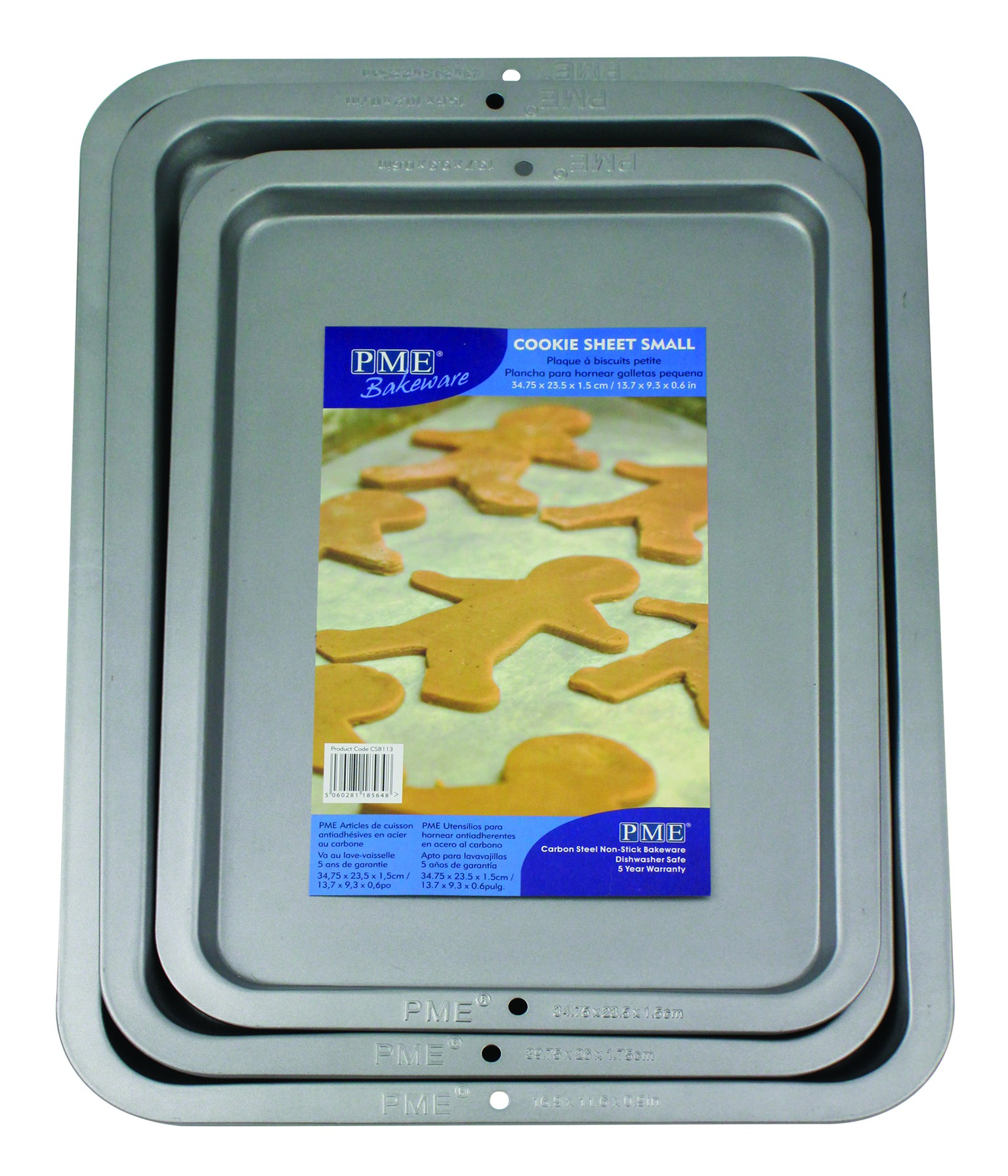 2001889 Jem Nonstick Cookie Sheet 34.8 x 23.5