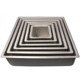 2000635 Square Single Cake Pan(14x14x4) Inch