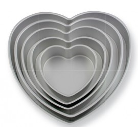 2000630 PME Heart Single Cake Pan(14x3) Inch