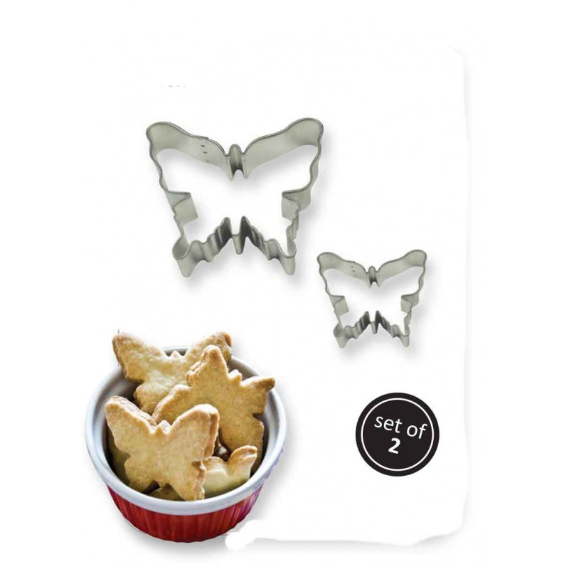 2001854 JEM-Cookie & Cake Butterfly Cutter (Set/2)